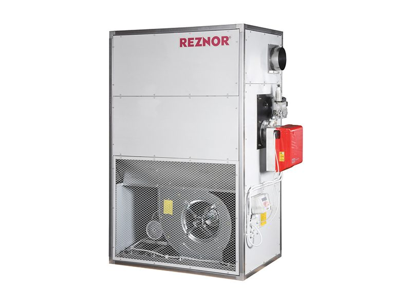 Reznor warm air heating cabinet